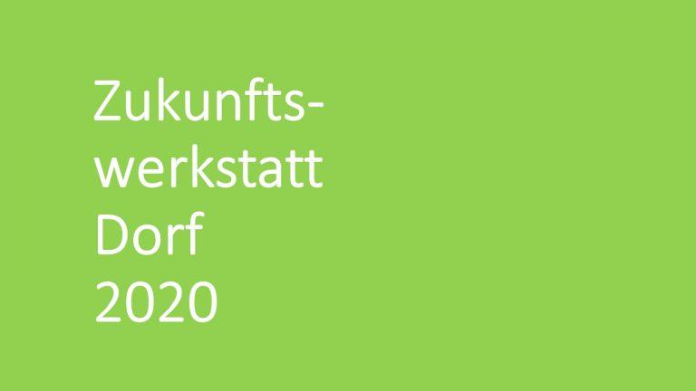 Zukunftswerkstatt Dorf