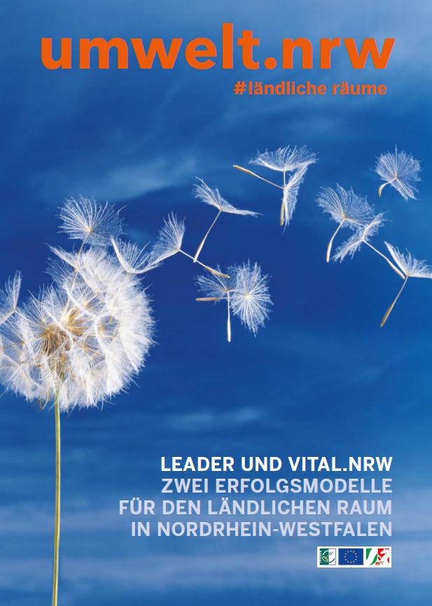 Neue Broschüre zu LEADER- und VITAL.NRW-Projekten in NRW
